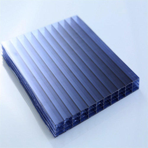 Blue Lexan Corrugated Sinus Profile Sheet   ID: 12437635662