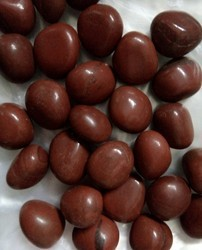 GIMC Red Jasper Tumbled Stone, For Decorative Used, +15mm