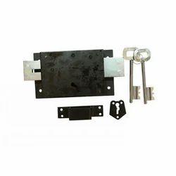 Vishal Aluminum Door Lock, Chrome