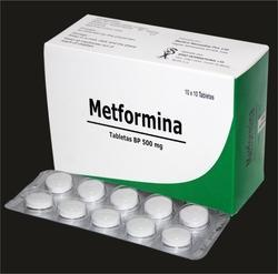 Metformin Tablets BP 500 mg, Packaging Size: 10*10 Tablets, for Clinical