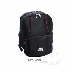 Black School Backpack Bag