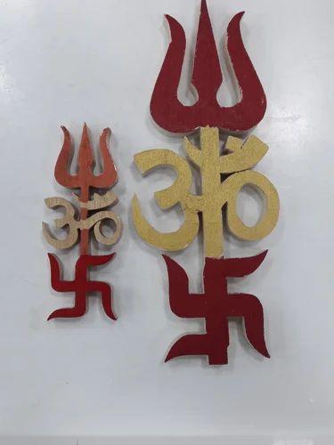 Kiran Jewellers Shreeparni Om Swastik Trishul Simple Rs 350 Piece