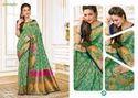 Rajguru Pure Silk Bridal Saree