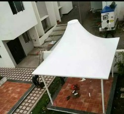 White Pyramid Outdoor Portable Canopy
