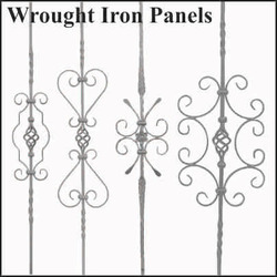 Wrought Iron Baluster / Panels