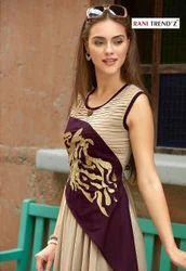 Party wear Printed Ladies Georgette Kurtis