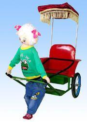 Robotic Cart Kiddie Ride