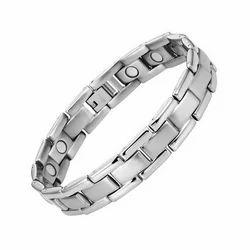 Silver, Golden 22cm Titanium Magnetic Jewelry