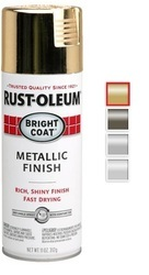 Rust Oleum Bright Coat Metallic Spray Paint