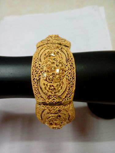 851fa233728ad 1 Gram Gold Plated Bangle