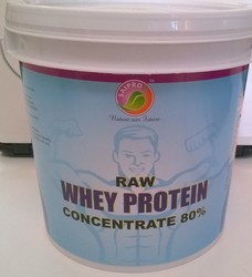 Raw Whey Protein Concentrate 80% (Instant) - 2KG (4.4 lb)