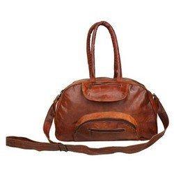 Leather Sports & Gym Duffel Bag DUFF102