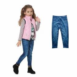 Children Girl Jeans