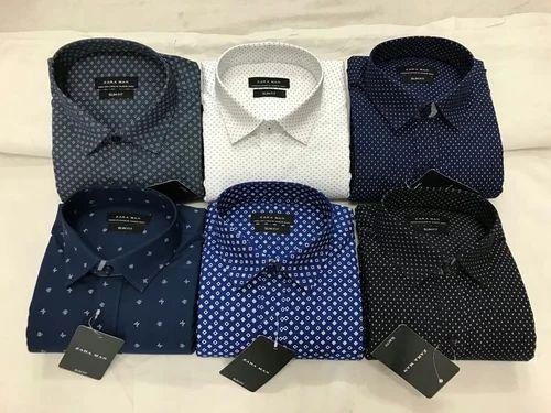 a85f44cd Plain Male Zara Men Cotton Shirt, Rs 245 /piece, Apple Zone ...