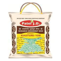 Groundnut Seed Kasturi 108, Packing: 20 kg