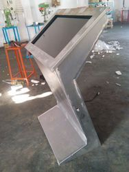 Ms steel garment Touchscreen Stand Fabrication