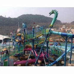 Medium Water Playground Fiberglass Park