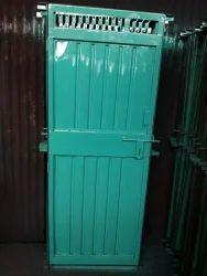 Blue Standard Iron Doors, Size/Dimension: 24x66