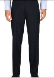 Striped Formal Slim Fit Trousers