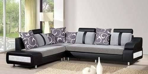 Lshape sofa set Solid Wood L Shape Sofa