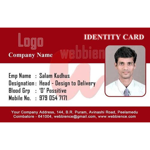 PVC Employee ID Card Manufacturer From