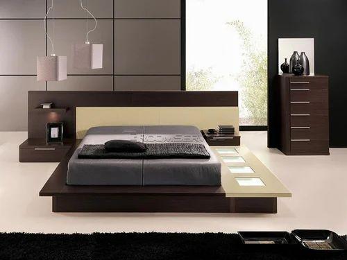 Wood Modern Bed Design Rs 38000
