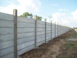 RCC Concrete Compound Walls