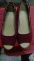 Ladies Half Cut Shoes