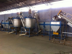 SHIVAM ENGINEERING Plastic Bottle Recycling Plant, Capacity: 300 Kg./hr., 110 Hp