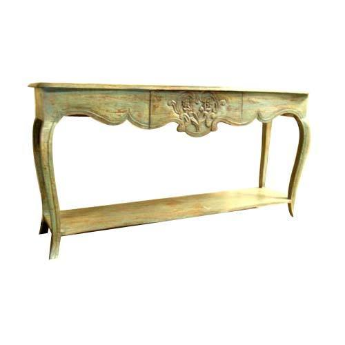 Exceptionnel Ethnic Console Table