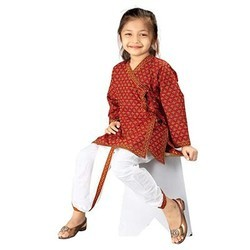 Boys Cotton Angrakha Dhoti Set 205B