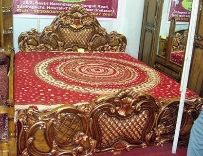 Teak Wood King Size Beds Rupam Interior Retailer In Santragachi