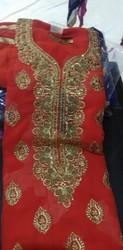 Printed Punjabi Cotton Suit