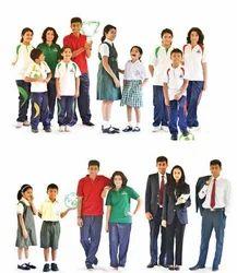 Polyester Designer School Uniforms