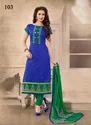 Indian Chanderi Salwar Suit