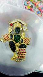 God Gold South Indian Pendant