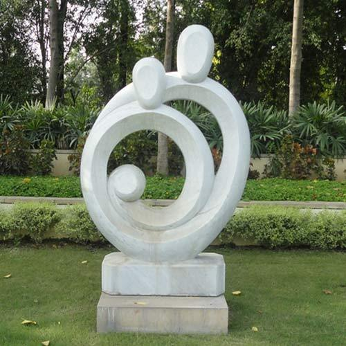 Marble Sculpture, For Exterior Decor