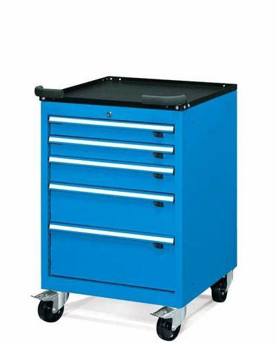 Rej Mobile Tool Storage Cabinet On