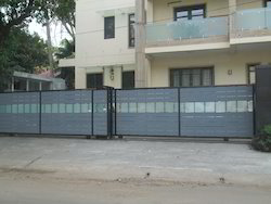 Residence Double Side Sliding Gate