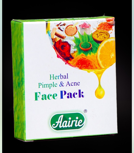 Herbal Pimple and Acne Face Pack