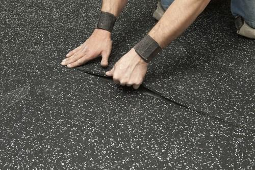 Rubber Gym Flooring At Rs 95 00 Square