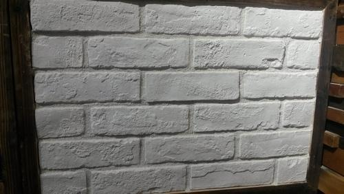 White Real Brick Look Tile
