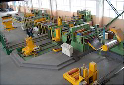 Slitting Line for Mild and Galvanized Steel