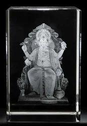 3D Crystal Ganesh