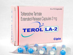 Tolterodine Tartrate Extended Release Capsules 2 mg