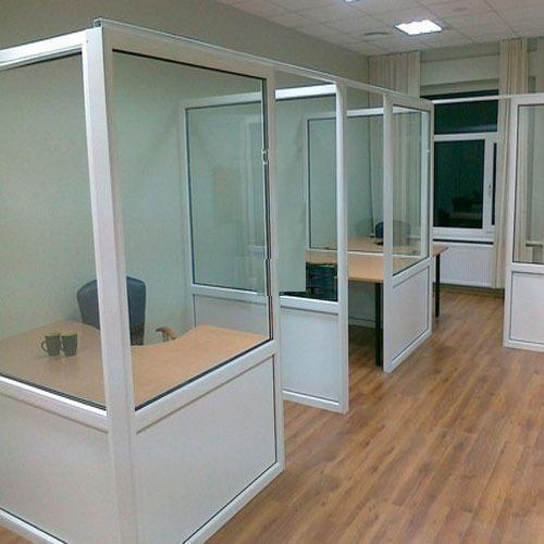 Aluminium Office Cabin Partition At Rs 150 Square Feet