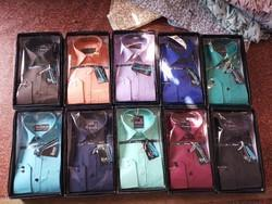 Cotton Causal Men Plain Shirts
