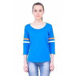 Women Cotton Full Sleeve T Shirts
