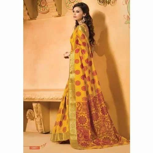0624a11446f Chanderi Silk Saree at Rs 1550  piece
