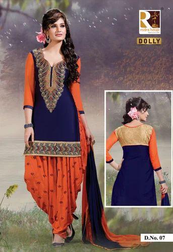 d84d0c9456 Designer Patiala Salwar Suit at Rs 780 /set | Punjabi Salwar Kameez ...